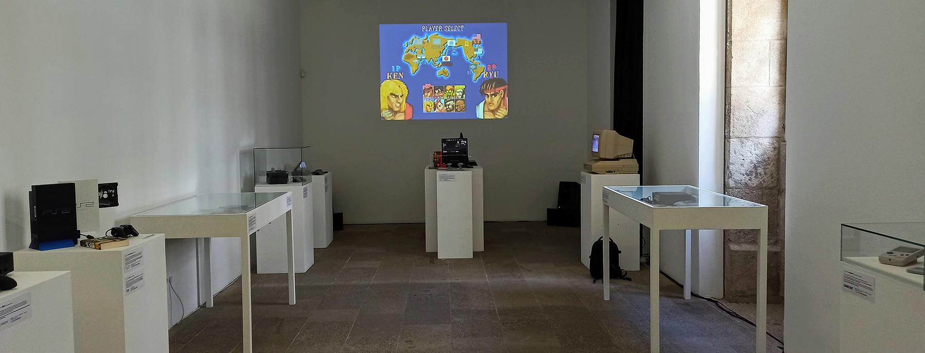Exposición del Museo de videojuegos