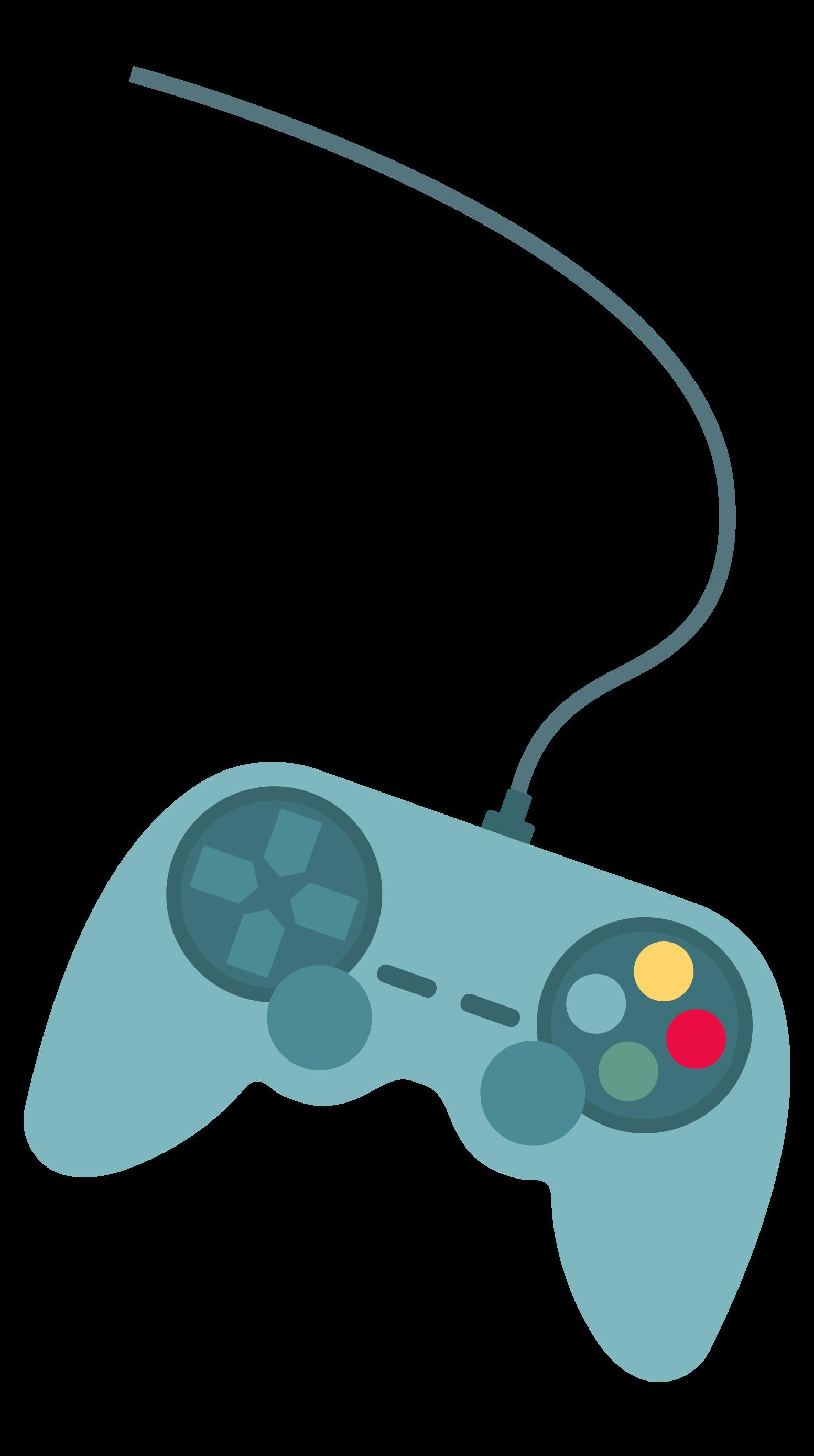 ilustración de mando de consola